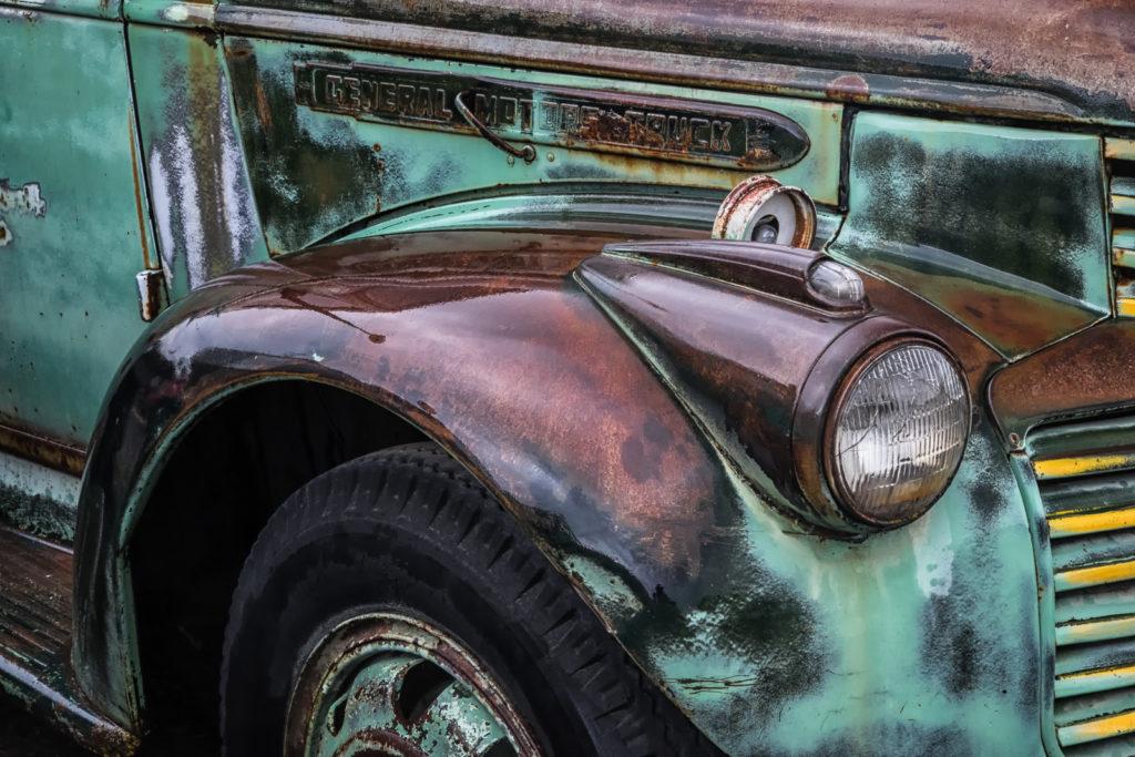 rustic truck, jack graham photo workshop